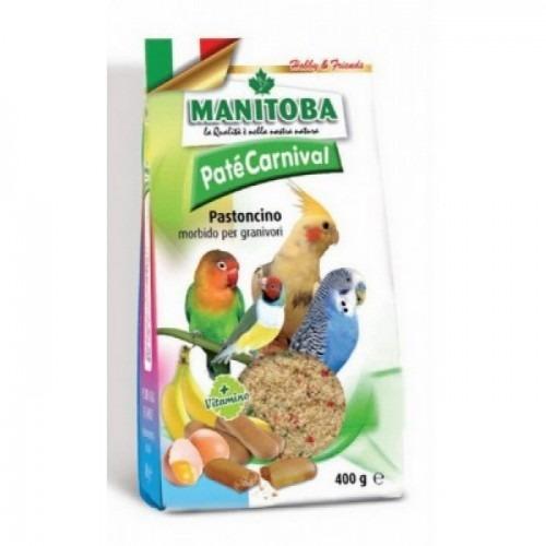MANITOBA Pate Carnival Αυγοτροφή για Παπαγάλου