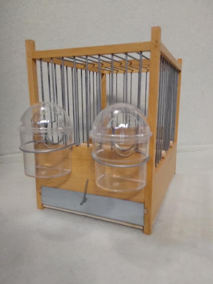 Ξύλινο Κλουβί για Τιμπράντο χειροποίητο