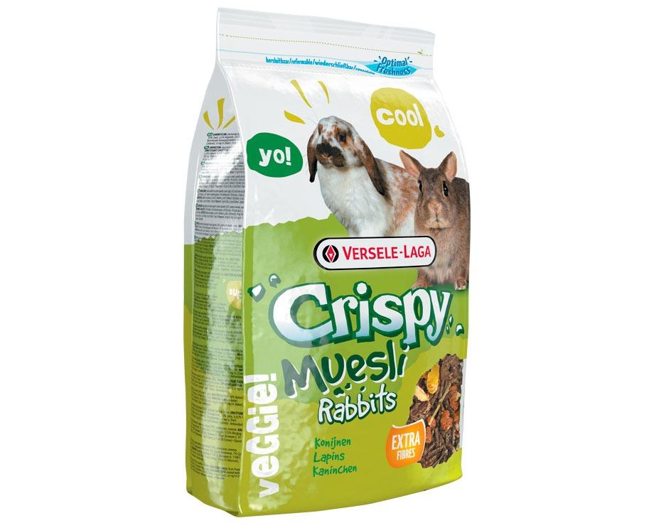 Versele-Laga Crispy Muesli Τραγανό μείγμα για Νανάκια Κουνελάκια 1kg