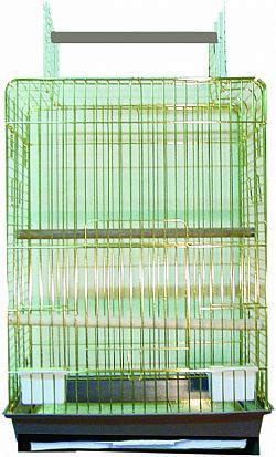 Κλουβί Eva Χρυσή 52x41x79cm