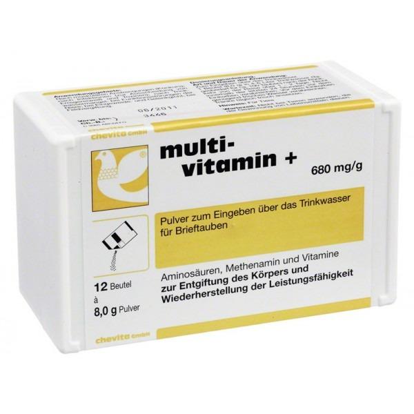Chevita Multi-Vitamin Plus για Αποτοξίνωση οργανισμού πτηνών