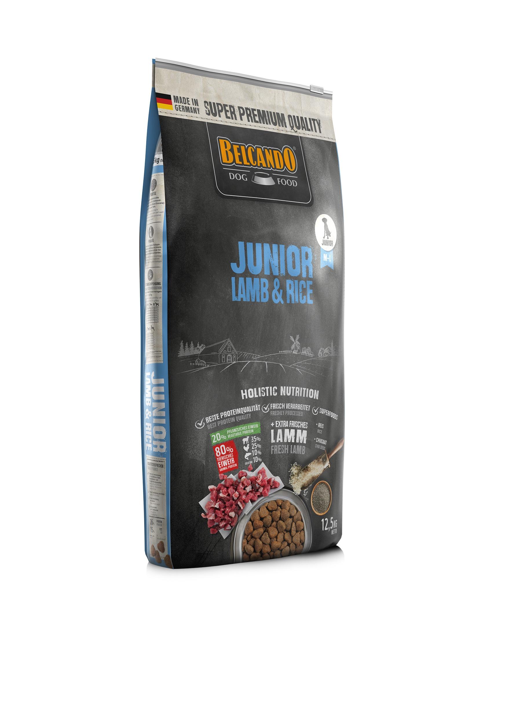 Junior Lamb _ Rice 12.5kg