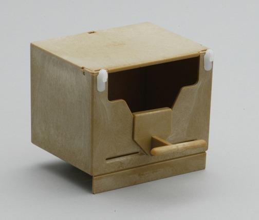 Φωλιά πλαστική για παραδείσια (cm. 13x10x9,5h)
