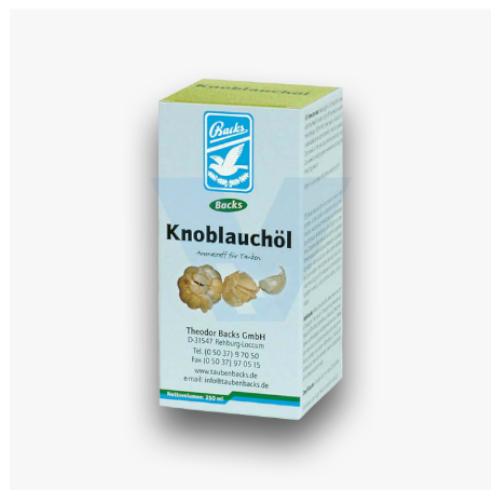Backs Knoblauchöl Έλαιο Σκόρδου