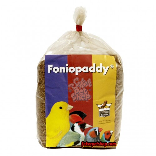 Foniopaddy Floralia 1kg animal-foods.gr