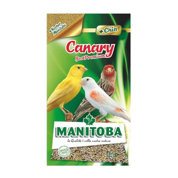 Manitoba Canary Best Premium 3kg animal-foods.gr