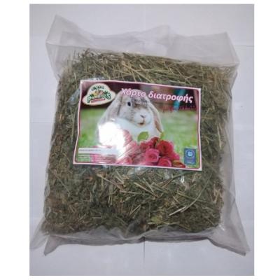 evia parrots χόρτο διατροφής με τριαντάφυλλο για κουνέλια