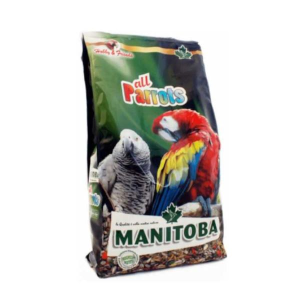 manitoba all parrots 800gr animal-foods.gr