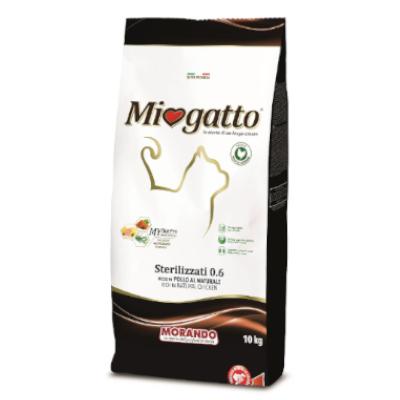 miogatto sterilized ξηρά τροφή για στειρωμένες γάτες