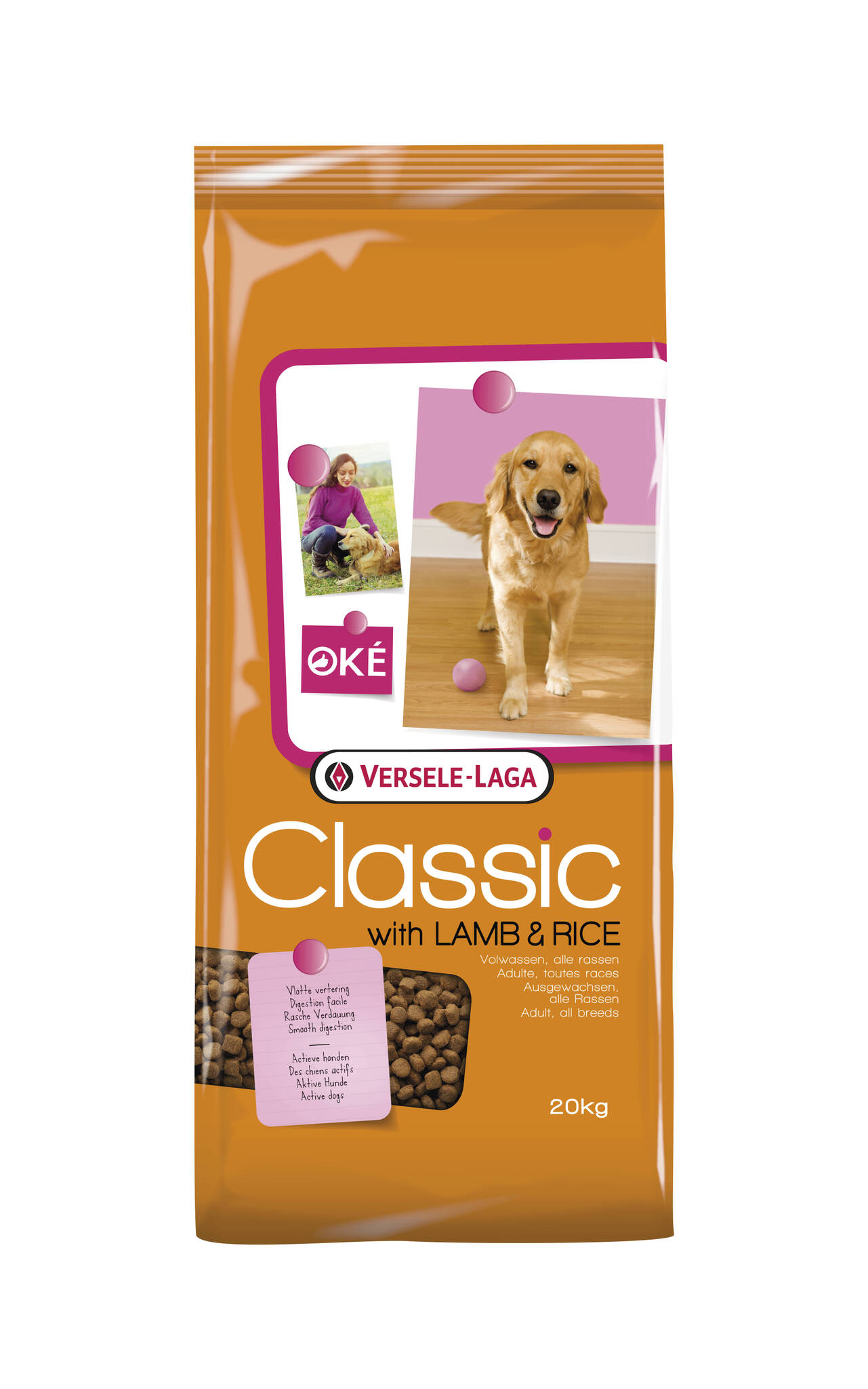 Classic with Lamb & Rice Adult All breeds 20kg