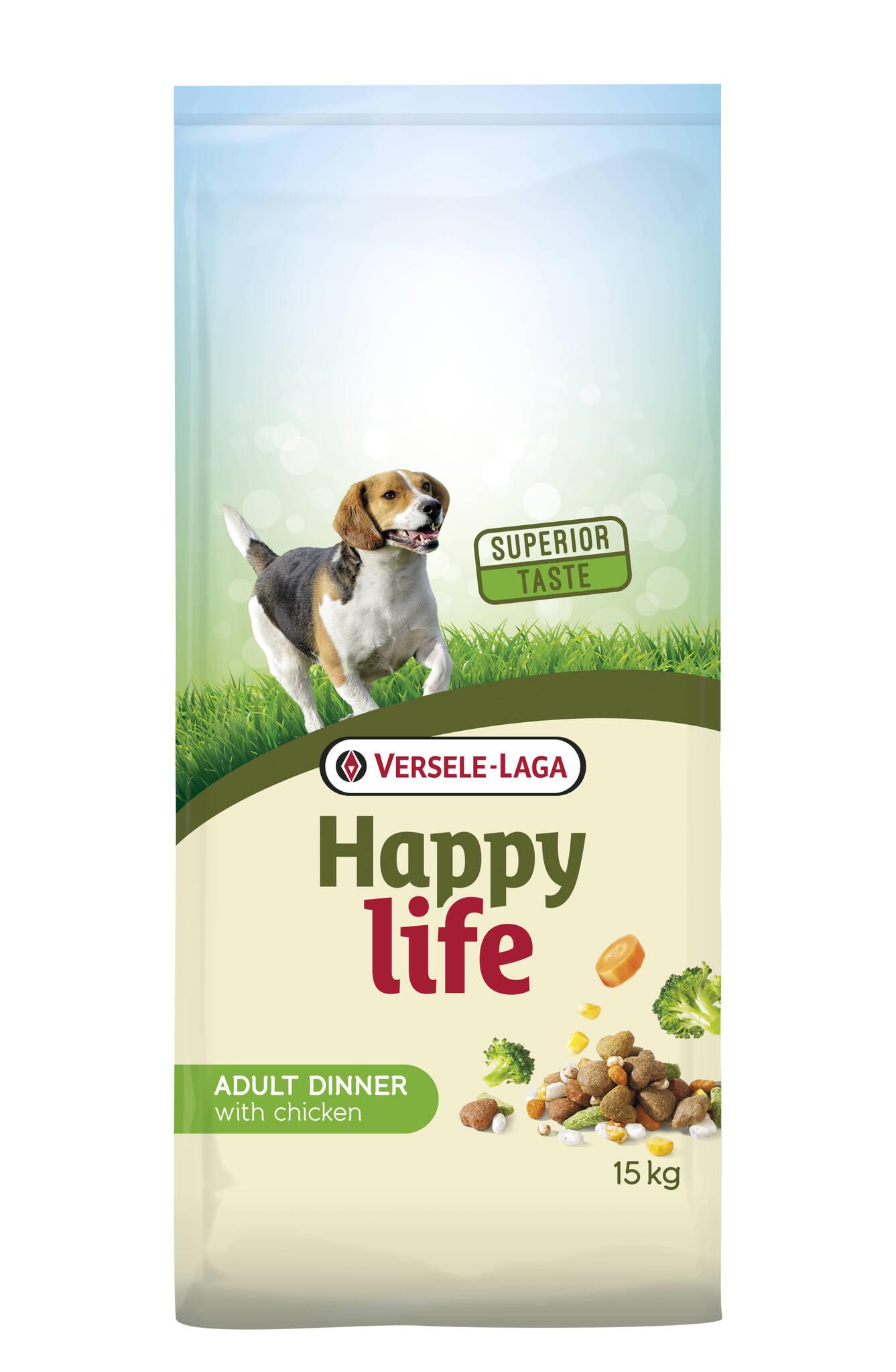 Happy Life Adult Chicken Dinner 15kg