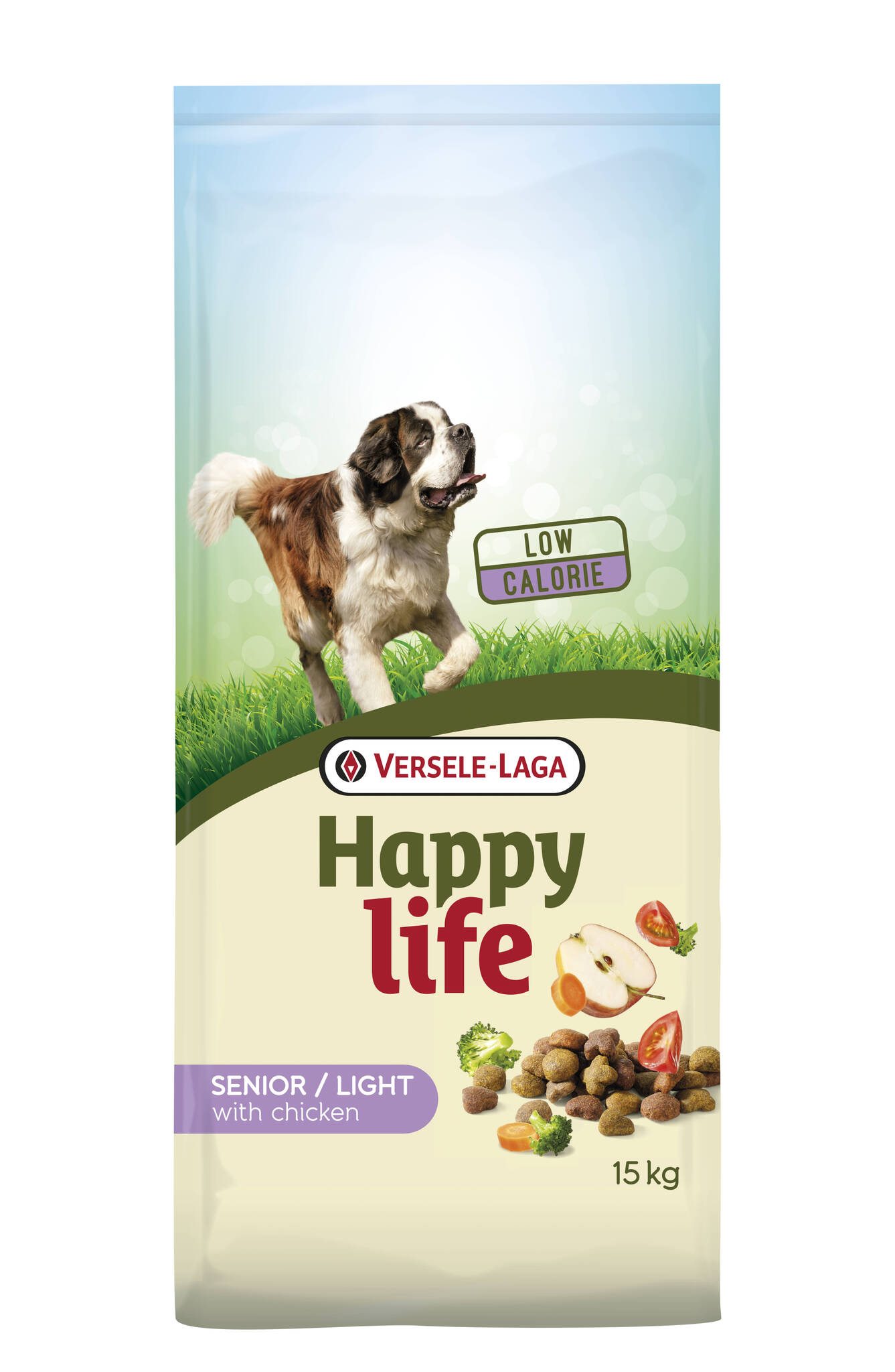 Happy Life Light Senior Chicken 15kg