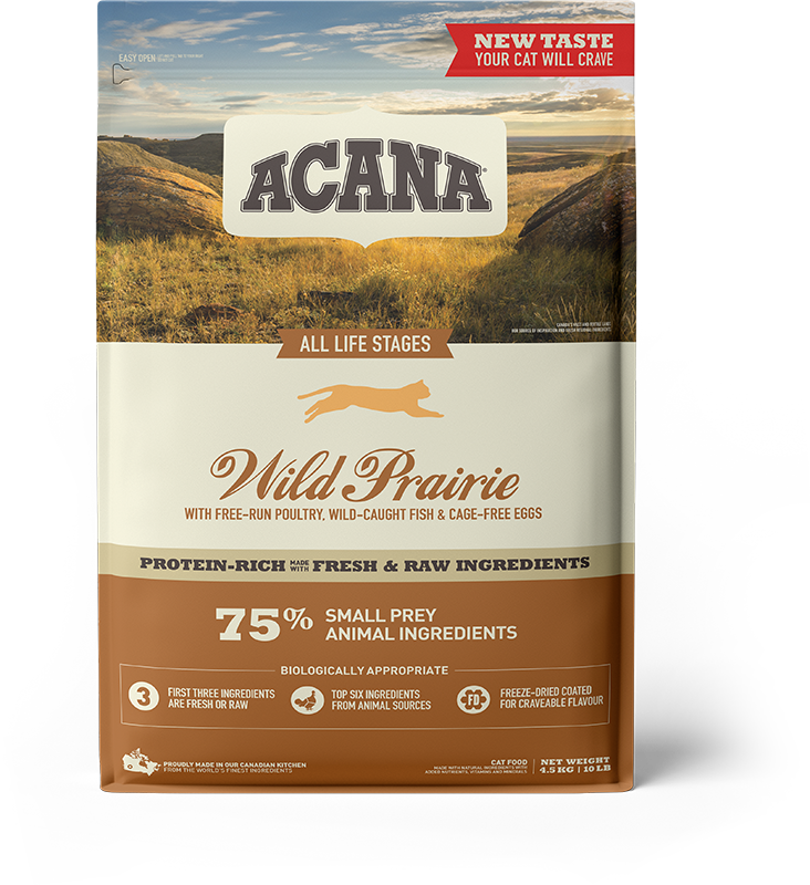 NS ACANA Cat Wild Prairie Front 4.5kg