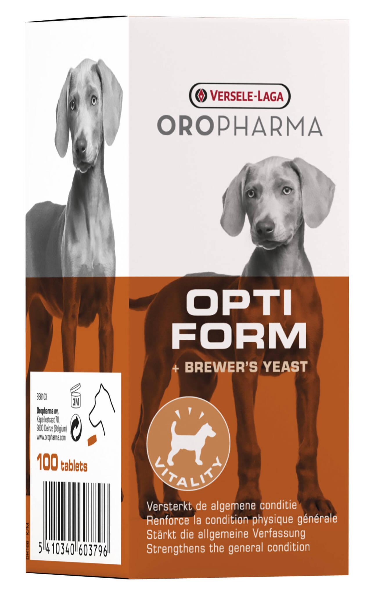 Oropharma Opti Form 100 tab