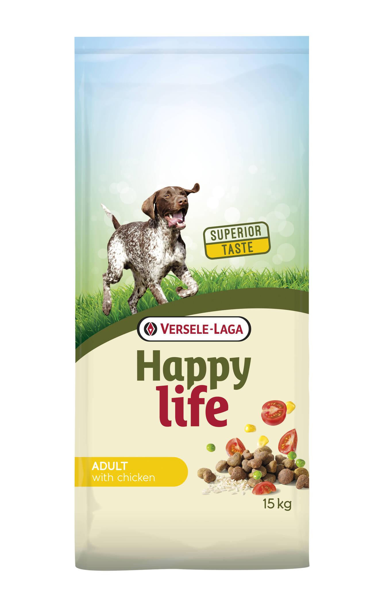 happy life adult chicken 15