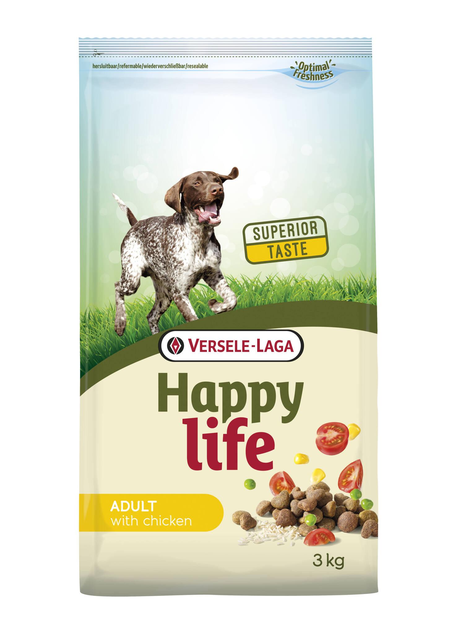 happy life adult chicken 3