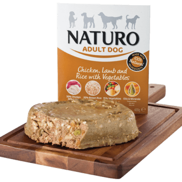chicken lamb naturo grain free