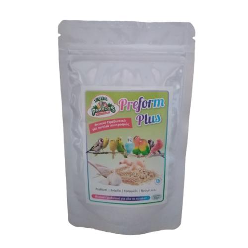 preform plus evia parrots animal-foods.gr