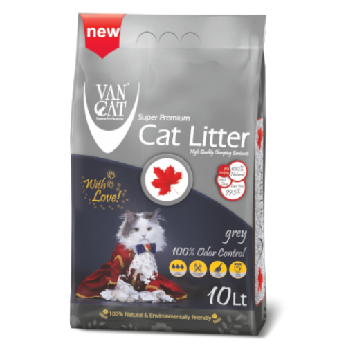 van cat grey odour άμμος γάτας