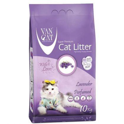 άμμος γάτα με άρωμα λεβάντας, van cat lavender