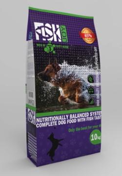 Quicker Kani Fish Joy Ξηρή τροφή για σκύλους με ψάρι