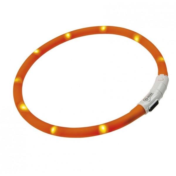 Ferplast Φωτιζόμενο Κολάρο για σκύλους με LED Night Over-Collar