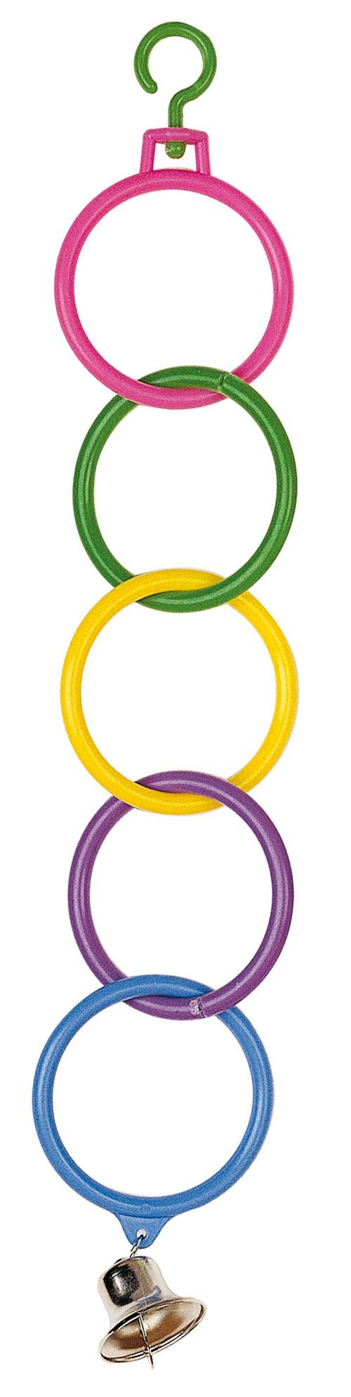 Ferplast PA 4270 Ολυμπιακοί κρίκοι παιχνίδι παπαγάλου