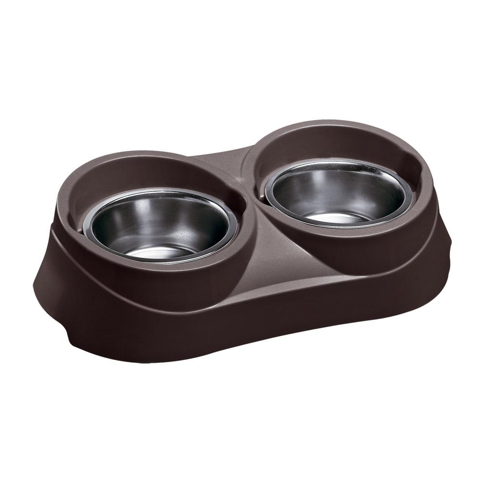 duo feed ferplast διπλή ταΐστρα ποτίστρα, διπλό δοχείο για σκύλους