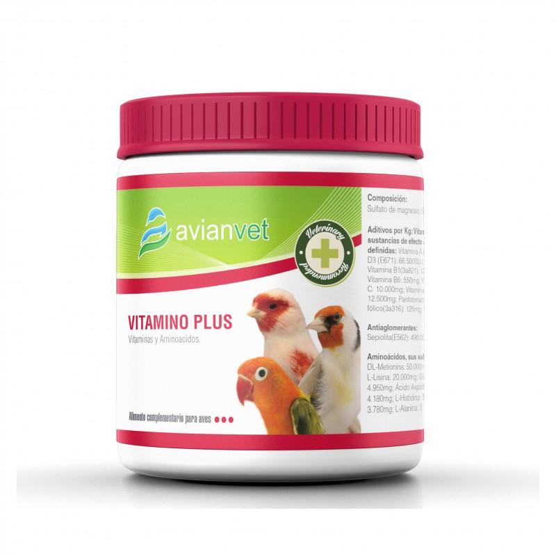 Avianvet Vitamino Plus Πολυβιταμίνες για Πτηνά σε σκόνη 125gr