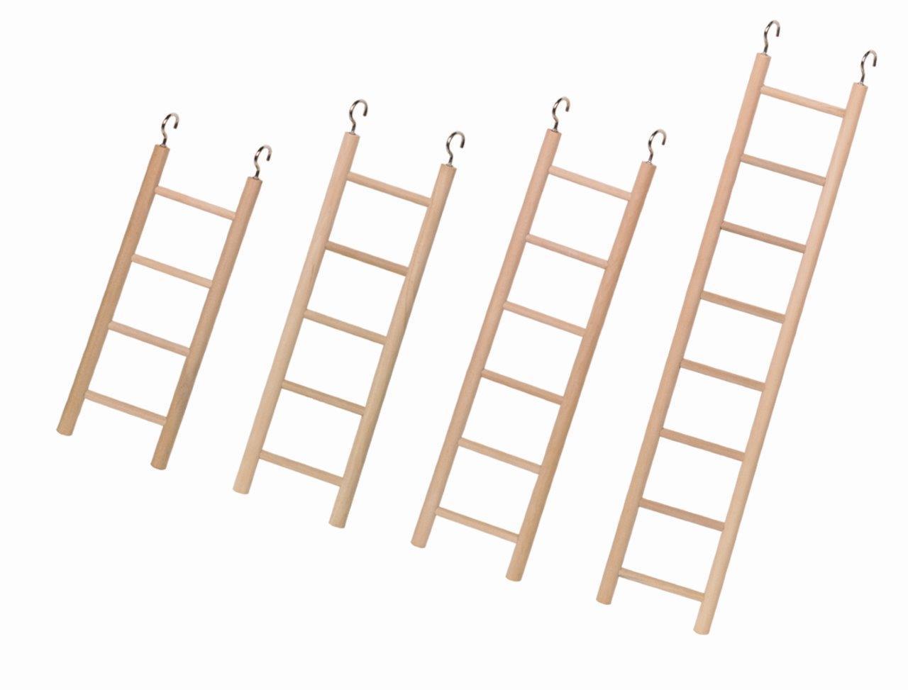 Nobby Ξύλινη σκάλα Παπαγάλου 4/5/6/8 steps