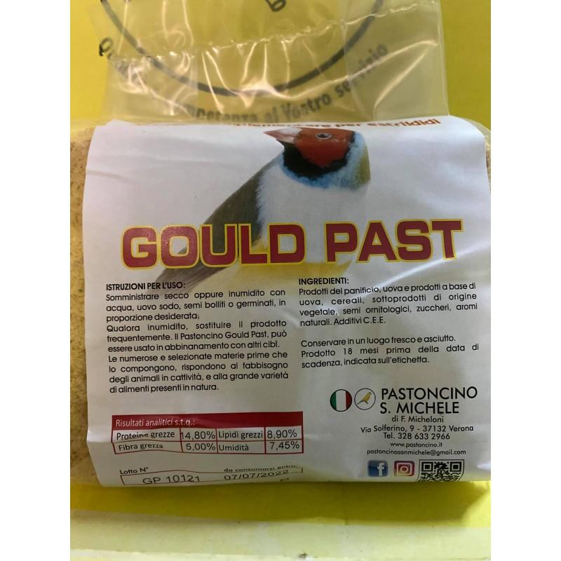 Pastoncino San Michele Gould Past αυγοτροφή για παπαγάλους & εξωτικά