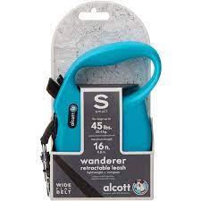 Οδηγός Αυξομειώμενος για σκύλο Alcott Wanderer μπλε S