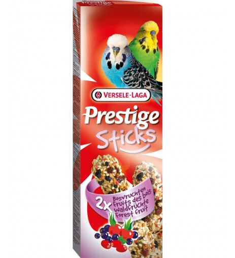 Versele-Laga Sticks Prestige Budgies Φρούτα του δάσους 2x30gr