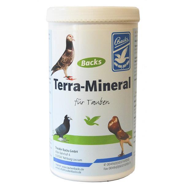Backs Terra Mineral Συμπλήρωμα με ιχνοστοιχεία για περιστέρια 1kg