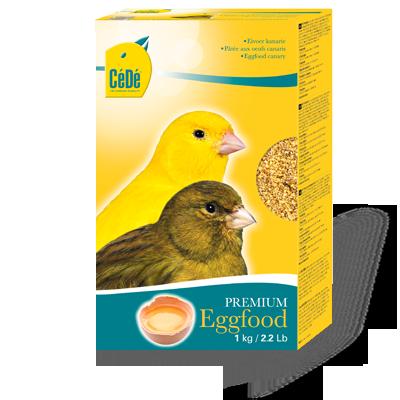 Cede Αυγοτροφή Ξηρή με Κίτρινο Παράγοντα 1kg/5kg