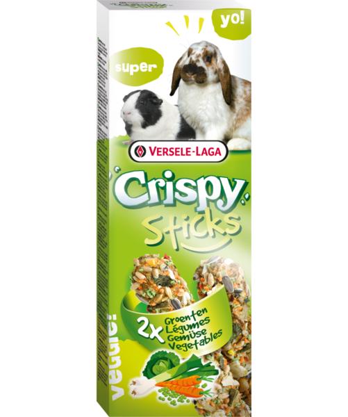 Versele-Laga Crispy Sticks με Λαχανικά για Κουνέλια & Ινδικά Χοιρίδια 2x55gr