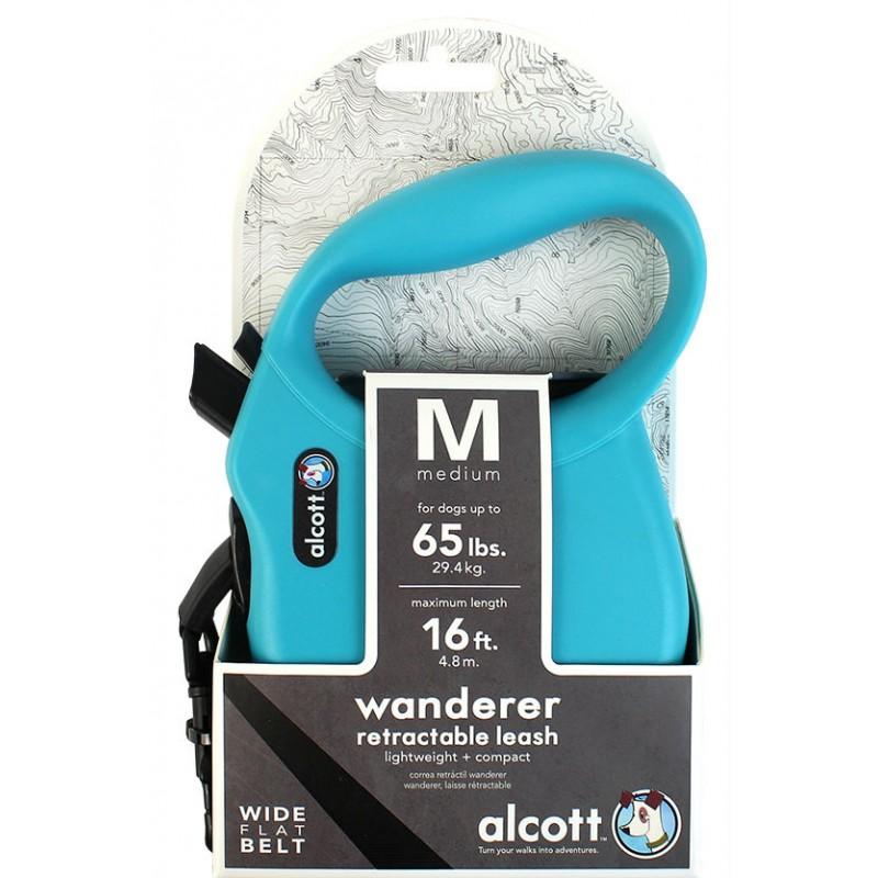 Οδηγός Αυξομειώμενος για σκύλο Alcott Wanderer μπλε M animal-foods.gr 2