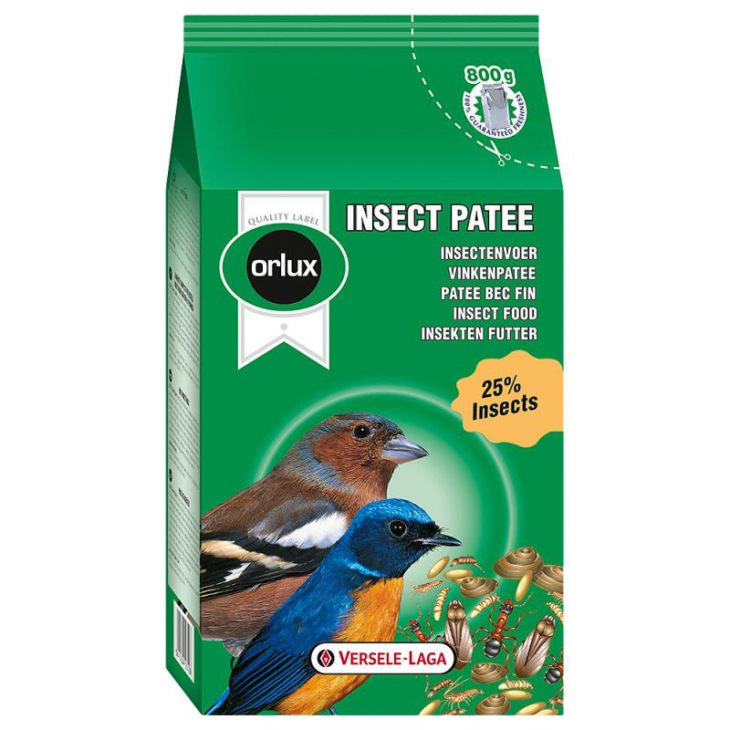 Versele-laga Orlux Insect Patee 800gr για Εντομοφάγα με 25% αποξηραμένα έντομα