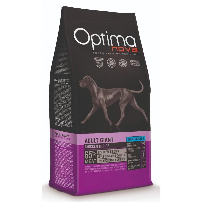 Optimanova Adult Giant Chicken & Rice animal foods .gr