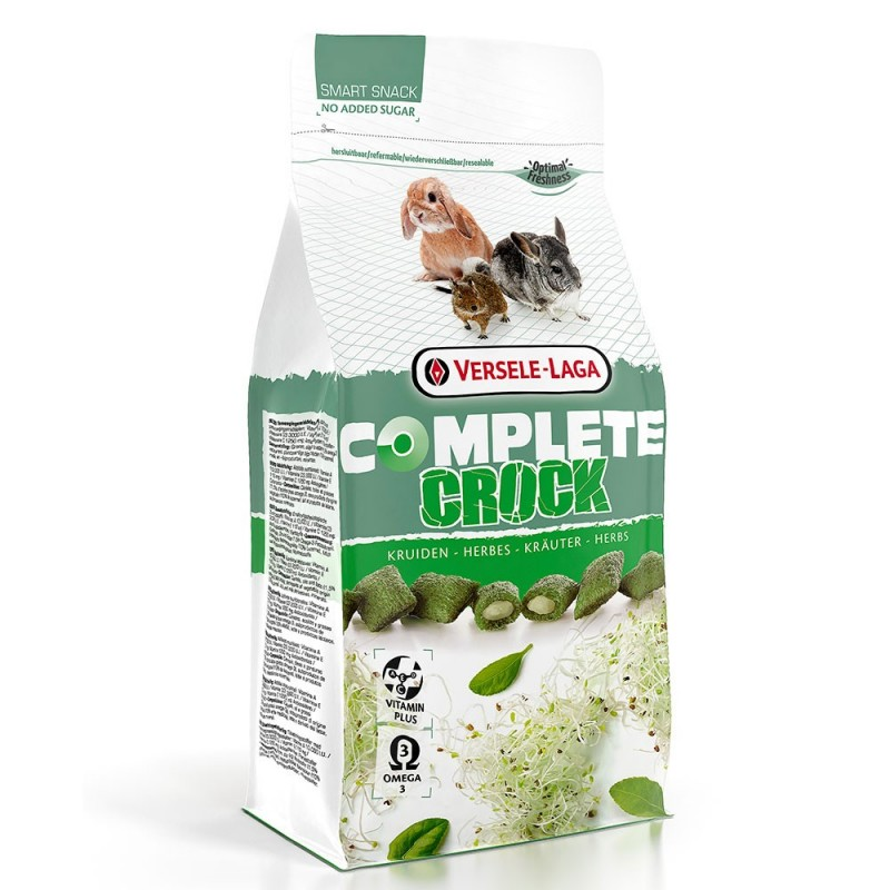 Versele-Laga Crock Herbs Complete Λιχουδιά για κουνέλια & τρωκτικά 50gr animal foods.gr