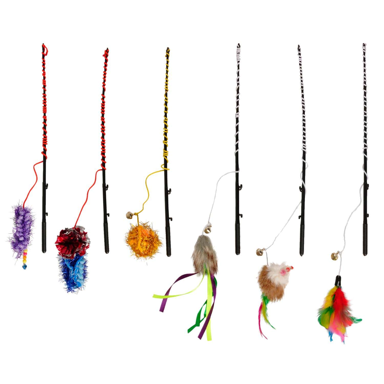 Flamingo Ράβδος Ψαρέματος για γάτες 30cm animal-foods.gr