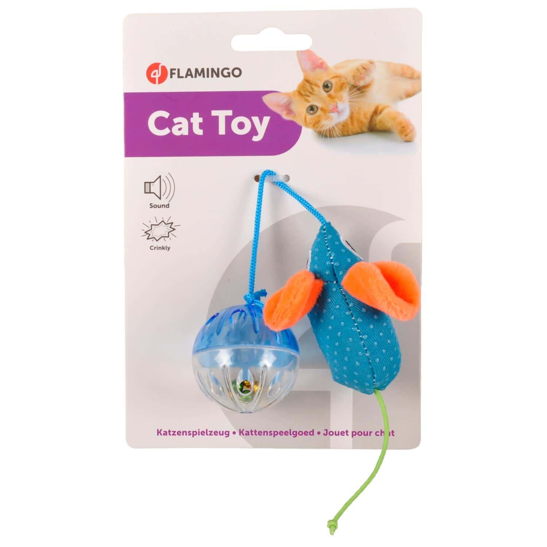 560441 560441 Παιχνίδι γάτας με Ποντίκι & Μπάλα animal foods pet shop 2