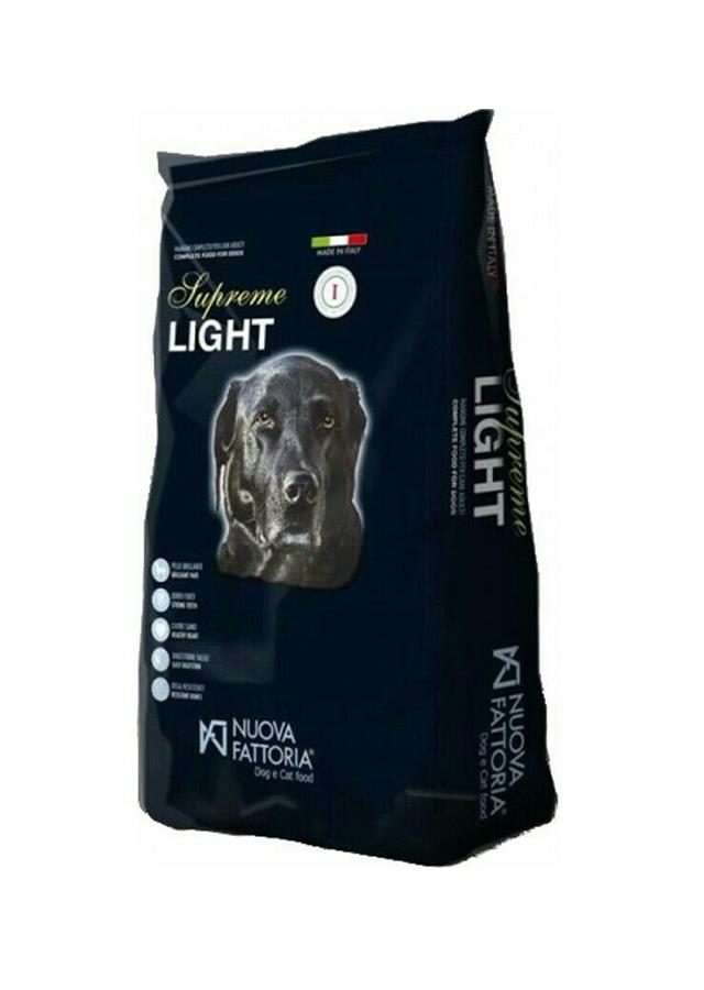 Σκυλοτροφή Nuova Fattoria Light για ηλικιωμένους, στειρωμένους σκύλους 4kg animal foods.gr
