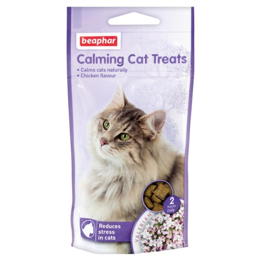 Beaphar No stress Calming Treats λιχουδιές κατά του άχους για γάτες animal-foods.gr