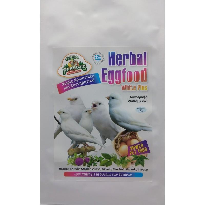 evia parrots Herbal Eggfood White Plus animal-foods.gr