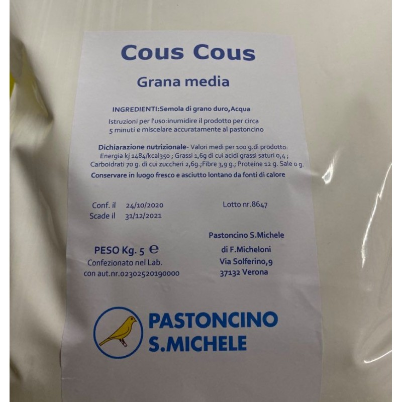 pastoncino san michele cous cous animal-foods.gr